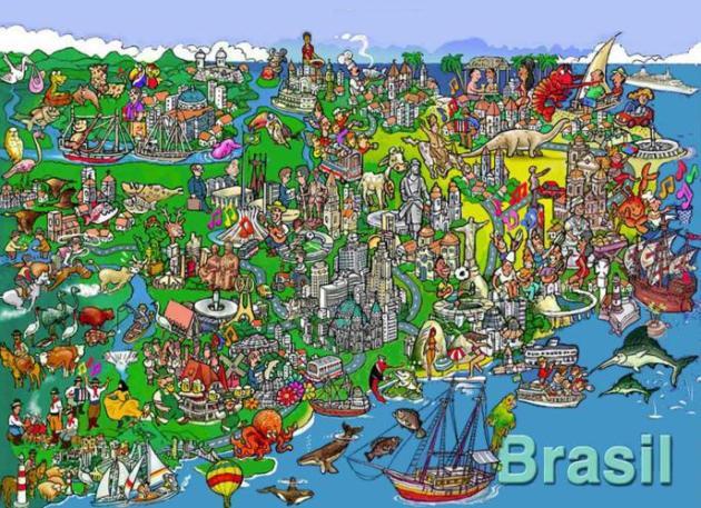 La carta di identità del Brasile